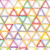 Triangles background Stock Photo