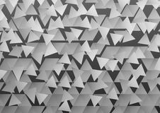 Triangles background Stock Image