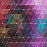 Triangles Background Royalty Free Stock Photos