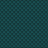 Triangles of black stone with blue streaks of energy. Seamless vector texture. Technology seamless pattern. Royalty Free Stock Image