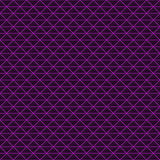 Triangles of black stone with purple streaks of energy. Stock Image
