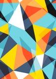 Triangles vector illustration