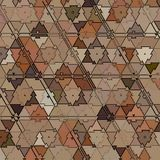 Triangles camouflage Abstract Pattern. Triangles camouflage Abstract autumn Pattern Stock Illustration