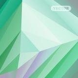 Triangles colorées abstraites Image stock