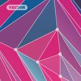 Triangles colorées abstraites Image libre de droits
