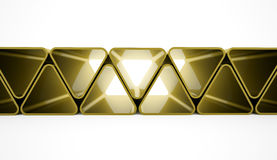 Triangles concept Royalty Free Stock Photos