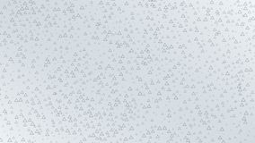 Triangles corporate background. Seamless loop stock footage
