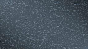 Triangles dark background. Seamless loop stock footage