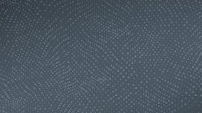 Triangles dark background. Seamless loop stock video