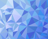 Triangles geometric background Royalty Free Stock Photos