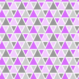 Triangles geometric pattern seamless Stock Photo