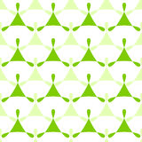 Triangles Green Seamless Pattern Background Stock Photography