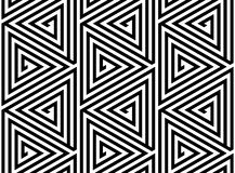Triangles Grid Abstract Seamless Geometric Pattern Stock Photos