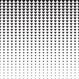 Triangles Halftone Pattern Stock Photography
