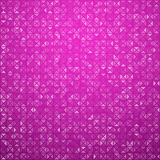 Triangles magenta technology pattern Royalty Free Stock Photography