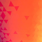 Triangles mosaic vector background Royalty Free Stock Photo