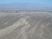 The Triangles, Nazca Lines Stock Images