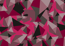Triangles pattern with geometric shapes Colorful abstract background for design Royalty Free Stock Photography