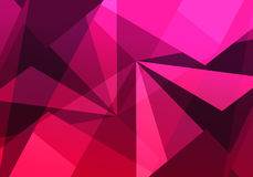 Triangles pattern with geometric shapes Royalty Free Stock Photography