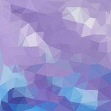 Triangles pattern of geometric shapes. Colorful Royalty Free Stock Photo