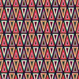 Triangles pattern Stock Photos