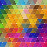 Triangles Pattern Stock Photo