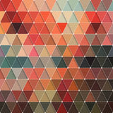 Triangles Pattern Stock Image
