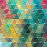 Triangles Pattern Stock Images