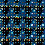 Triangles seamless pattern Royalty Free Stock Image