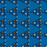 Triangles seamless pattern Stock Photography