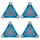Triangles Royalty Free Stock Images