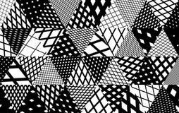 Triangles, stripe variation Stock Image