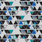 We are Triangles. Triangle shape in seamless pattern Royalty Free Stock Photos
