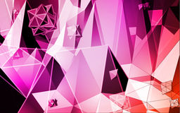 Triangles vector background Royalty Free Stock Image