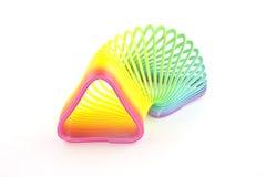 Triangleshaped slinky Стоковая Фотография RF