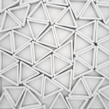 Triangoli bianchi royalty illustrazione gratis