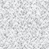 Triangoli bianchi e fondo astratto grigio Fotografia Stock