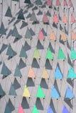 Triangoli del Rainbow immagine stock