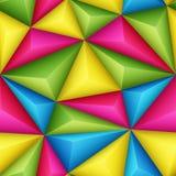 Triangoli di sollievo illustrazione vettoriale