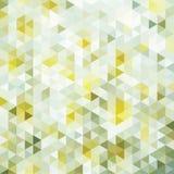 Triangoli luminosi del mosaico Fotografie Stock