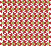 Triangoli rossi e verdi Fotografia Stock Libera da Diritti