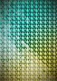 Triangoli sul fondo leggero di pendenza e sul cammuffamento digitale Fotografia Stock Libera da Diritti