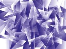 Triangolo astratto Fotografia Stock