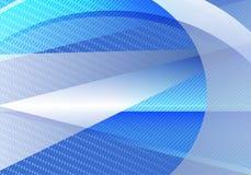 Triangolo astratto blu e grigio di vettore del fondo e linea retta Immagini Stock Libere da Diritti