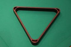 Triangolo del raggruppamento Fotografia Stock