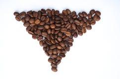 Triangolo di caffè Immagini Stock
