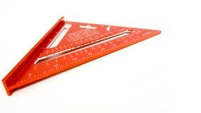 Triangolo di misurazione immagine stock libera da diritti