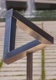 Triangolo di Penrose Fotografie Stock