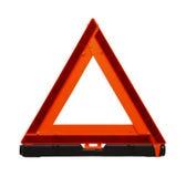 Triangolo di traffico fotografia stock