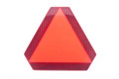 Triangolo lento del veicolo Immagine Stock Libera da Diritti